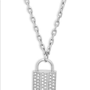 Swarovski Lock Pendant